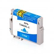 Epson Cartucho de tinta para Epson C13T34624010 / 34 cyan compatible (marca ASC)