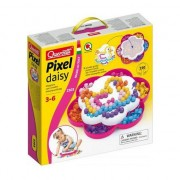 Set mozaic Pixel Daisy, Quercetti, 150 piese, Multicolor