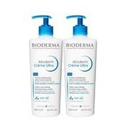 Atoderm creme de corpo peles sensíveis 2x500ml - Bioderma