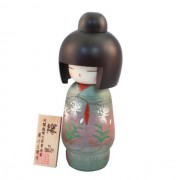 Japonská panenka Kokeshi Miyama 20 cm