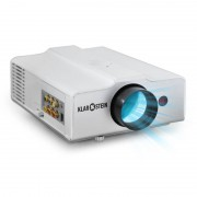 Auna EH3WS Proyector LED HDMI compacto blanco (LCDP-EH3WS)