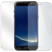 Samsung Galaxy Xcover 4 - Beschermingsset - Screenprotector met siliconen hoes