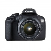 Canon EOS 2000D Kit with 18-55 IS II Lens Digital SLR Cameras - Black