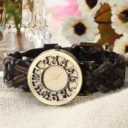 i DIVA'S Women Eleganzza analog Gold Dial Women's Watch (Brown) by japan