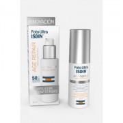 Fotoultra age repair 50+ 50ml a crema solare facciale con benefici di riparazione per l'età isdin