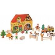 Figurina Janod My Story - Happy Farm 23 pieces