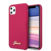 Husa Guess iPhone 11 Pro Max hard case Silicone Vintage Gold