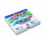 Creioane cerate 12 culori x 25 buc /culoare, 300 buc/set Jovi