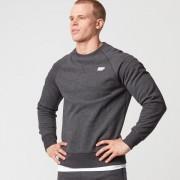 Myprotein Classic Crew Neck Sweatshirt - L - Charcoal Marl