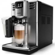 Автоматична еспресо машина Philips EP5335/10, Saeco Series 5000, 6 напитки, система за разпенване LatteGo, Неръждаема стомана, AquaClean