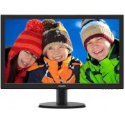 Philips 243V5LHSB5/00, 23.6 inch LED, 1920 x 1080 Full HD, 16:9, HDMI, negru