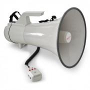 Auna Megáfono 45W alcance 1,5 km con función grabación (MEG1-E160W)