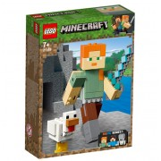 LEGO Minecraft, Alex BigFig cu gaina 21149