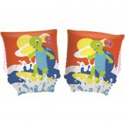 BSTW Opblaasbare oranje zwemvleugels met schildpad voor kinderen