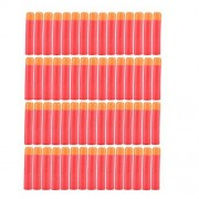 Yosoo 30-120pcs 9.5cm Red Soft Mega Refill Bullet Darts Foam Darts for Nerf N-strike Elite Series Blasters Kid Toy Gun (60pcs)