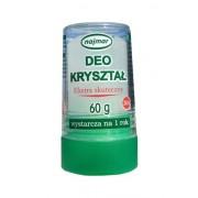 DEO KRYSZTAŁ (60g) naturalny dezodorant AŁUN - ekstra skuteczny, wystarcza aż na rok