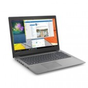 "Лаптоп Lenovo IdeaPad 330-15IGM (81D1007LBM)(сив), двуядрен Gemini Lake Intel Celeron N4000 1.1/2.6 GHz, 15.6"" (39.62 cm) HD Anti-Glare Display (HDMI), 4GB DDR4, 1TB HDD, 1x USB 3.1, Free DOS, 2.2 kg"