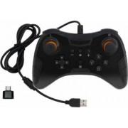 Controller joystick Dobe USB pentru Nintendo Switch Pro Negru