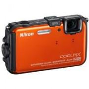 Nikon Coolpix Vodootporni fotoaparat AW100 Orange 16686