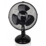 Ventilator de birou Floria ZLN-1211 Diametru 26 cm Putere 25 W 2 trepte de viteza Functie oscilare