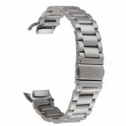 Banda de reloj de acero inoxidable para Samsung Gear Fit 2 SM-R360 - Plata