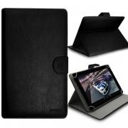 Housse Etui Universel M À Rabat Et Support Noir Pour Tablette Acer Predator 8, Iconia Tab 8 A1-840 Fhd