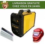 Silex France ® Pack poste à souder 160A + masque de soudure WH522+ 50 électrodes Silex ®