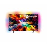 "Philips Tv philips 65"" led 4k uhd/ 65pus7303 (2018)/ hdr plus / ambilight x3/ quad core/ ultraplano/ smart tv/ 4 hdmi/ 2 usb/ dvb-t/t2/t"