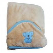 Детско одеяло за столче за кола KOALA 95х95 см., бежов, 0149, Baby MATEX, 5902675034432