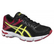 Asics GT 1000 4 GS - scarpe running stabili - bambina - Black/Yellow