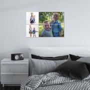 YourSurprise Instacollage fotopanelen - 15x15 - Liggend - Glanzend (6 tegels)