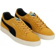 Puma Suede Classic Archive Sneakers For Men(Yellow, Black)
