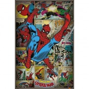 Marvel Spiderman retro poster 61 x 91,5 cm