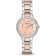 Fossil Zilverkleurig Vrouwen Horloge ES3405