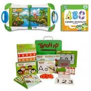 Learn ABCs & 123s with Leapfrog LeapStart, LeapStart Preschool Alphabet Adventures Book & Teach My Preschooler Learning Kit, Kids Ages 2+, Leapfrog, Preschool Learning Toys, Alphabet, Number Toys