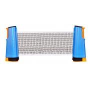 Get & Go tafeltennisnet oprolbaar blauw