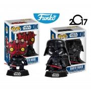 Set 2 Darth Maul Y Darth Vader Pop Funko Pelicula Star Wars ENVIO GRATIS