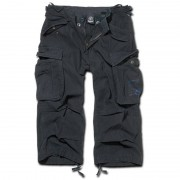 Brandit Industry 3/4 Shorts Svart 2XL