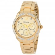 Ceas dama Bulova 98R171 Quartz Diamonds Collection