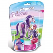 Playmobil Princesas - Princesa Viola Con Caballo - 6167