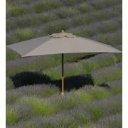 Ethimo Classic 3x4 parasoll Grå