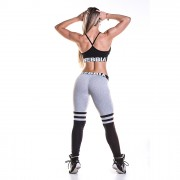 Colanti over the knee Nebbia, gri, marime M
