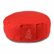PRANA Piros standard huzat 36x12 cm kerek jóga ülőpárnához