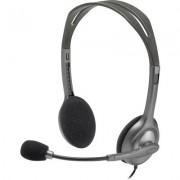 Слушалки с микрофон Logitech H110