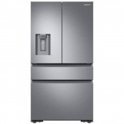 Samsung RF23M8080SR Four-Door American Fridge Freezer with Flex Zone-Stainless Steel