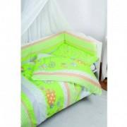 Детски спален комплект, Spring Green 0171, Babymatex, 5902675036108