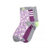 ADIDAS 3-Pack Graphic Socks