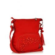 Sling Bag Pick Pocket Women 's Sling Bag (Red,Slredemb39)