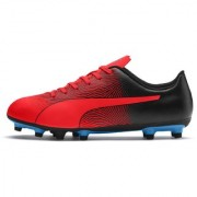 Puma Men's Red & Black Spirit II FG Football Shoes