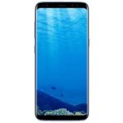"Telefon Mobil Samsung Galaxy S8 Plus G955FD, Procesor Exynos 8895, Octa-Core 2.3GHz / 1.7GHz, Super AMOLED Capacitive touchscreen 6.2"", 4GB RAM, 64GB Flash, 12MP, 4G, Wi-Fi, Dual Sim, Android (Coral Blue) + Cartela SIM Orange PrePay, 6 euro credit, 6 GB i"